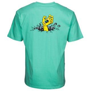 Santa Cruz UK Hand Wall T-Shirt Spearmint
