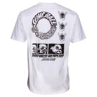 Santa Cruz Clothing UK & EU - This Fast T-Shirt White