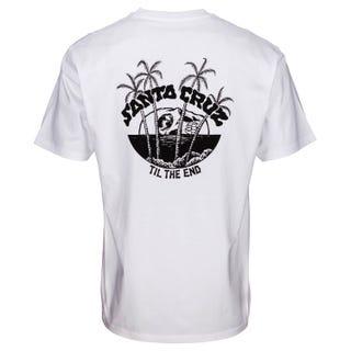 Santa Cruz Horizon T-Shirt White