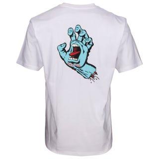 Santa Cruz Clothing F.S.U Hand T-Shirt White