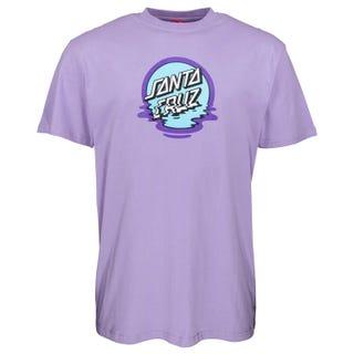 Santa Cruz Clothing Europe - Dot Reflection T-Shirt Violet