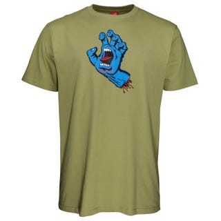 Santa Cruz NEW Screaming Hand T-Shirt Sage
