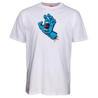 Santa Cruz NEW Screaming Hand T-Shirt White
