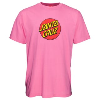 Santa Cruz NEW Classic Dot T-Shirt Orchid Pink
