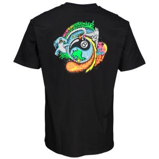 Santa Cruz Winkowski Dope Planet T-Shirt Black