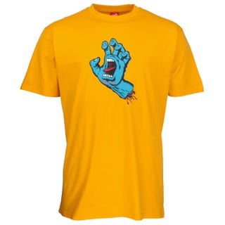 Screaming Hand T-Shirt Gold