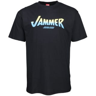 Jammer T-Shirt from Santa Cruz UK. Black
