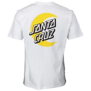 Santa Cruz Moon Dot T-Shirt White