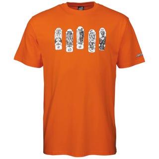 Santa Cruz Kendall Catalog T-Shirt Safety Orange.