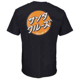 Other Japanese Dot T-Shirt Black | Santa Cruz UK