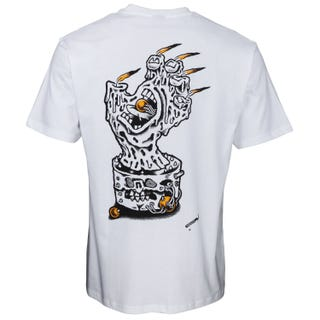 Black Magic Hand T-Shirt - White - Santa Cruz UK