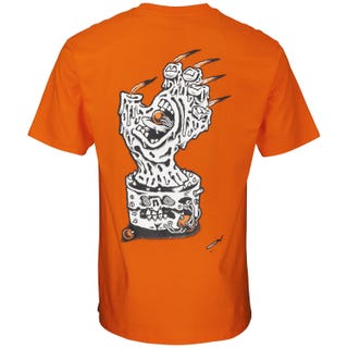 Black Magic Hand T-Shirt - Safety Orange - Santa Cruz UK