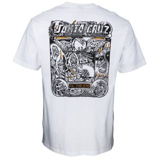 Multimedia Witchcraft T-Shirt White Santa Cruz UK