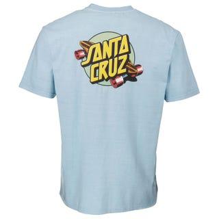Santa Cruz Summer of 76 T-Shirts Blue
