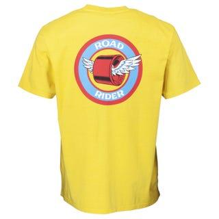 Santa Cruz T-Shirts - Road Rider Yellow