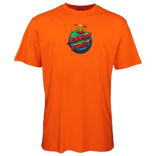Santa Cruz Doom Dot T-Shirt Orange