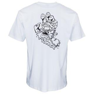 Universal Hand T-Shirt White | Santa Cruz UK