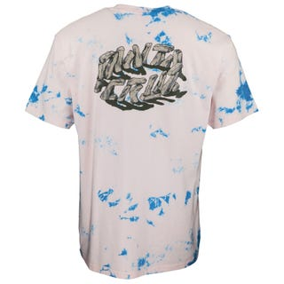 Santa Cruz Stoner Circle T-Shirt Pink / Blue