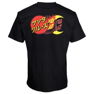 Santa Cruz Dot Group T-Shirt Black