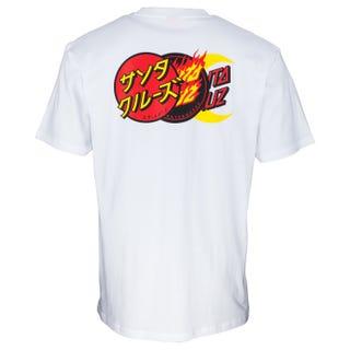 Santa Cruz Dot Group T-Shirt White