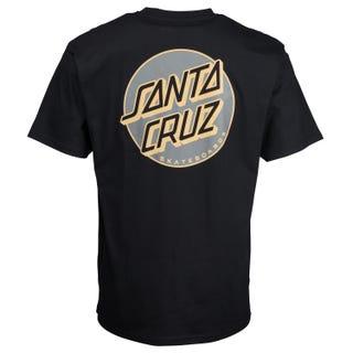 Santa Cruz Missing Dot T-Shirt Black