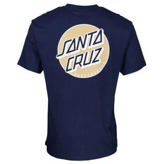 Santa Cruz Missing Dot T-Shirt Dark Navy