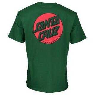 Santa Cruz Missing Dot T-Shirt Evergreen
