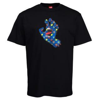 Santa Cruz Jackpot Hand T-Shirt Black