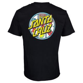 Santa Cruz Jackpot Dot T-Shirt Black