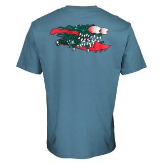 Santa Cruz Slasher T-Shirt Dusty Blue