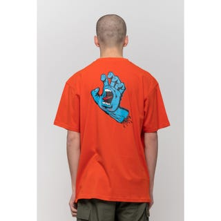 Screaming Hand Chest T-Shirt