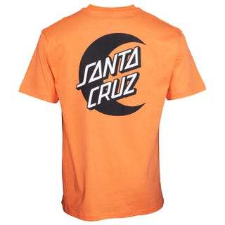 Santa Cruz Moon Dot Mono T-Shirt Salmon