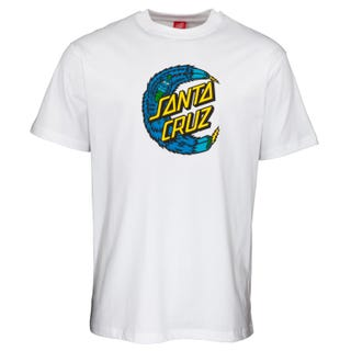 Santa Cruz Bigfoot Moon Dot T-Shirt White