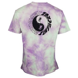 Santa Cruz Scream Ying Yang Chest T-Shirt Trippy Cloud