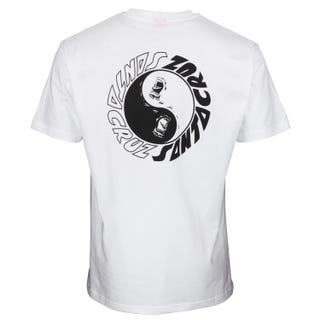 Santa Cruz Scream Ying Yang T-Shirt White