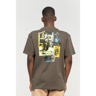 Santa Cruz Tom Knox Archive T-Shirt Washed Black