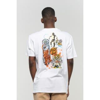 Santa Cruz Salba Archive T-Shirt White
