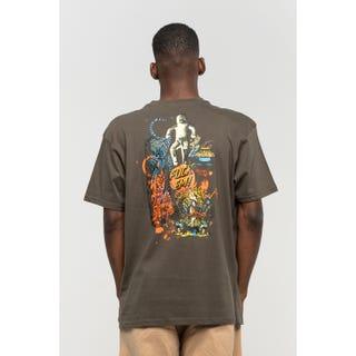 Santa Cruz Salba Archive T-Shirt Black