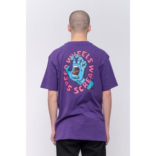Santa Cruz Screaming Hand Scream T-Shirt Purple