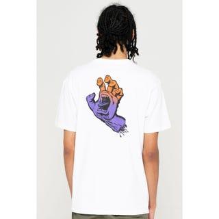 Santa Cruz Bogus Hand Fade T-Shirt White
