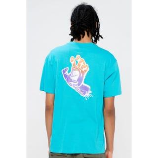Santa Cruz Bogus Hand Fade T-Shirt Aqua