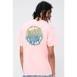 Santa Cruz Toxic Dot T-Shirt Pink