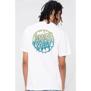 Santa Cruz Toxic Dot T-Shirt White