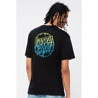 Santa Cruz Toxic Dot T-Shirt Black