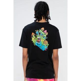 Santa Cruz Toxic Hand T-Shirt Black