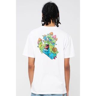 Santa Cruz Toxic Hand T-Shirt White