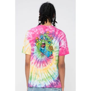 Santa Cruz Toxic Hand T-Shirt Psychedelic