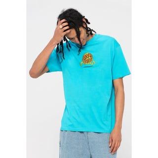 Santa Cruz Fish Eye Guy T-Shirt Aqua