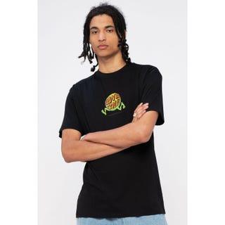 Santa Cruz Fish Eye Guy T-Shirt Black
