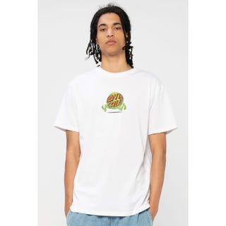 Santa Cruz Fish Eye Guy T-Shirt White